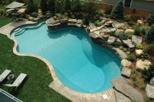 piscina interrata esterna
