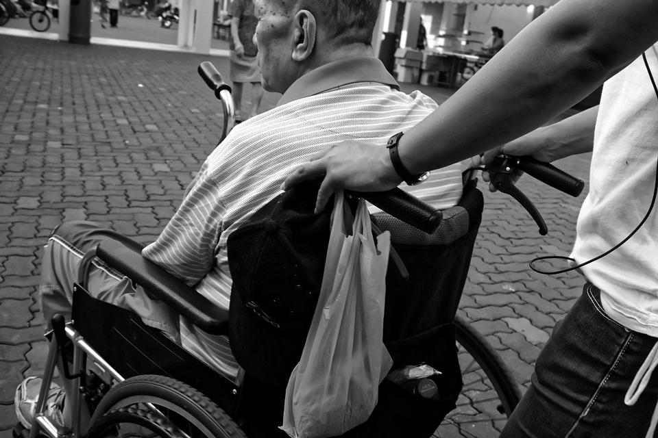 poltrone per disabili e anziani
